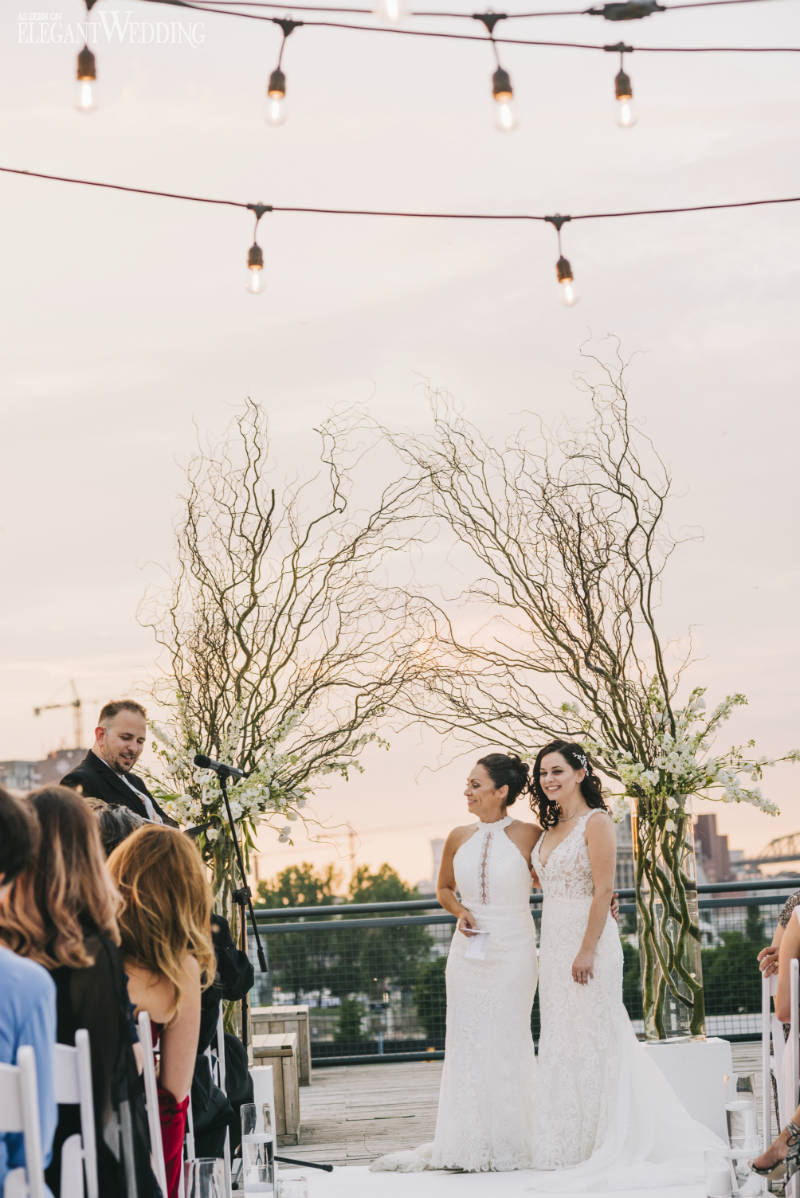 Tree Branch Wedding Ceremony Arch