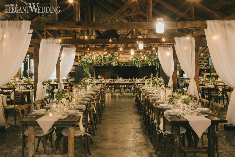 Rustic Greenery Wedding at Sucrerie de la Montagne