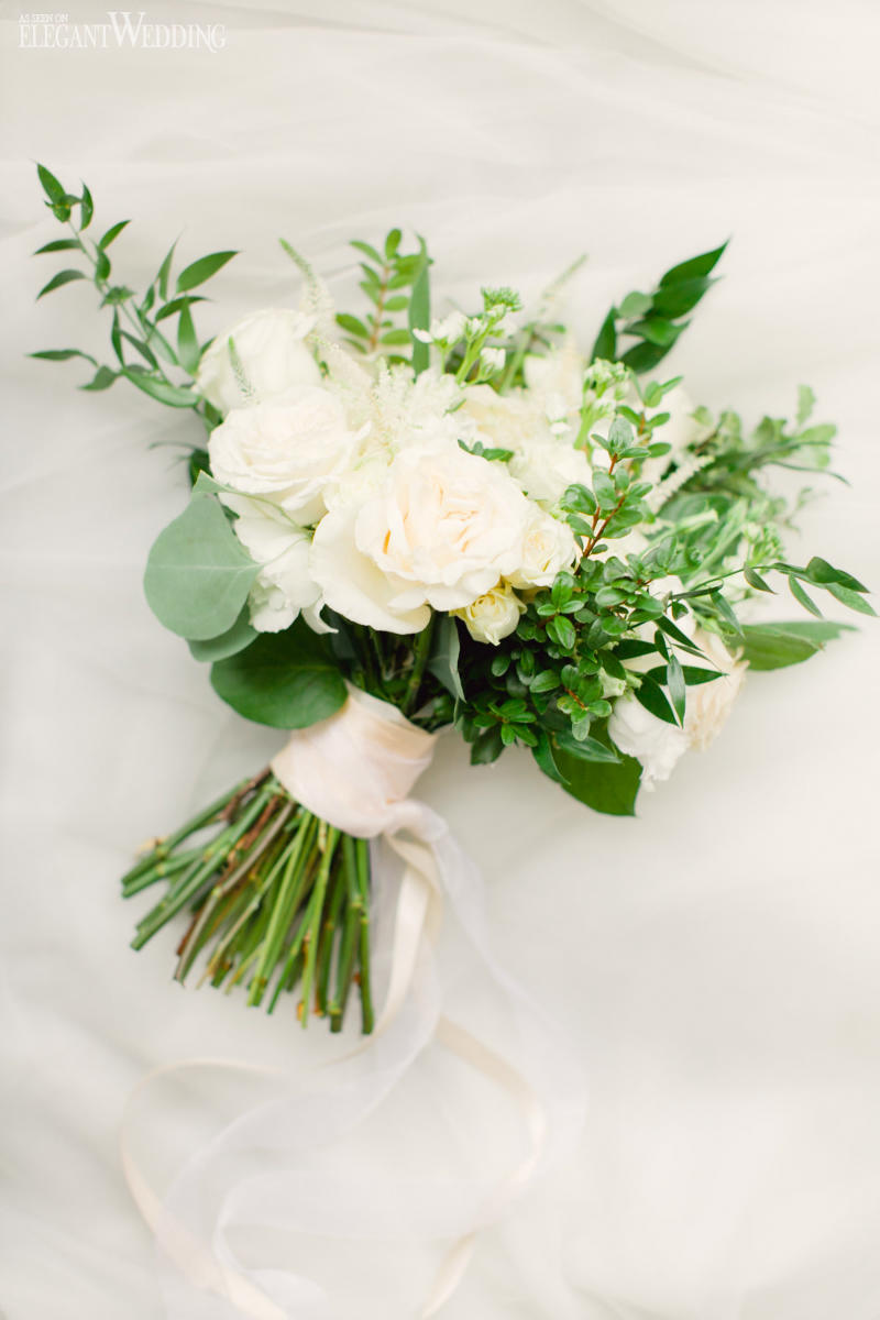 White Wedding Bouquet
