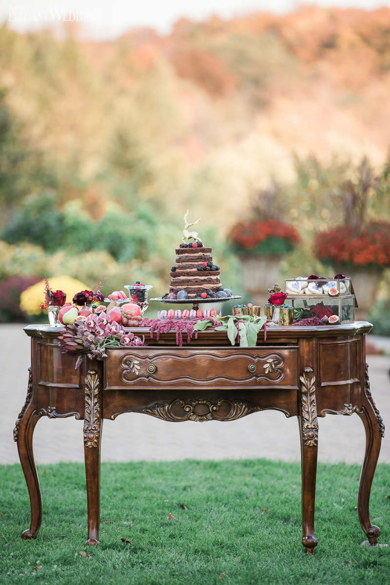 Bohemian Wedding Sweet Table