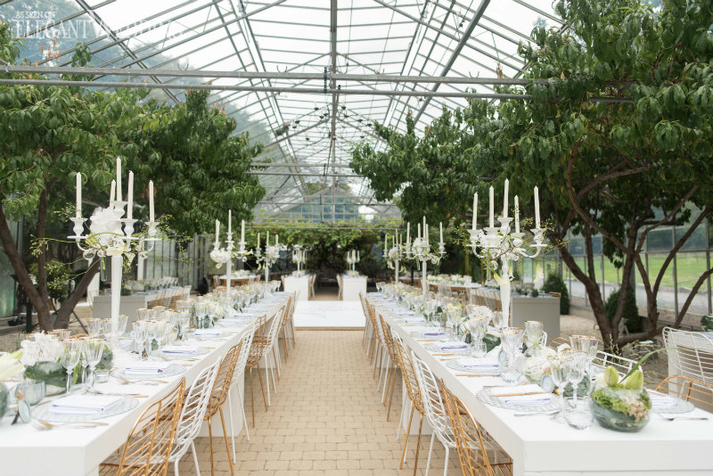 An Enchanted Garden Wedding in Belgium
