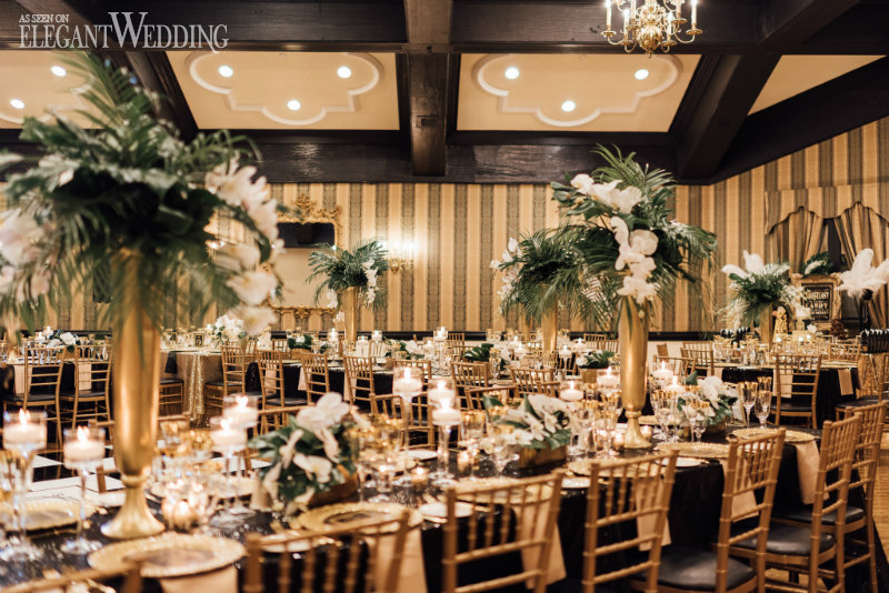 Great Gatsby Wedding Reception Ideas