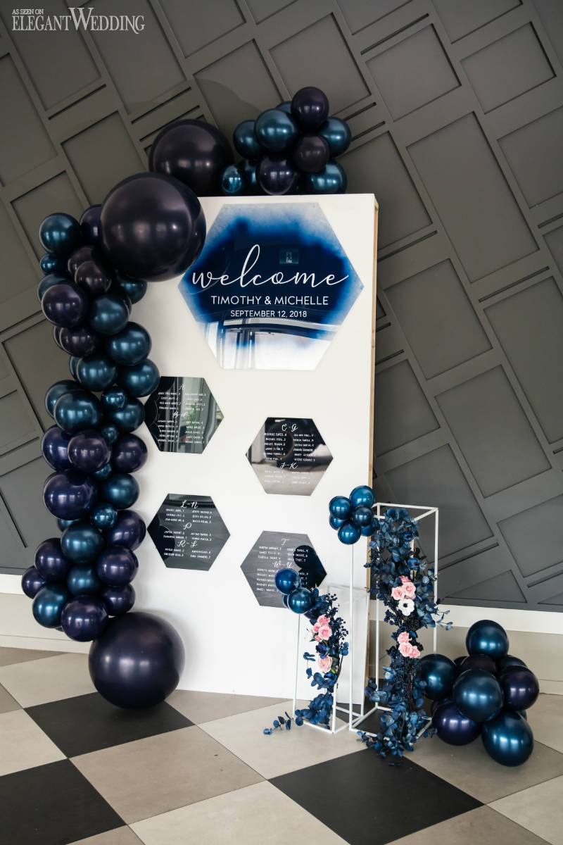 Balloon Wedding Seating Chart