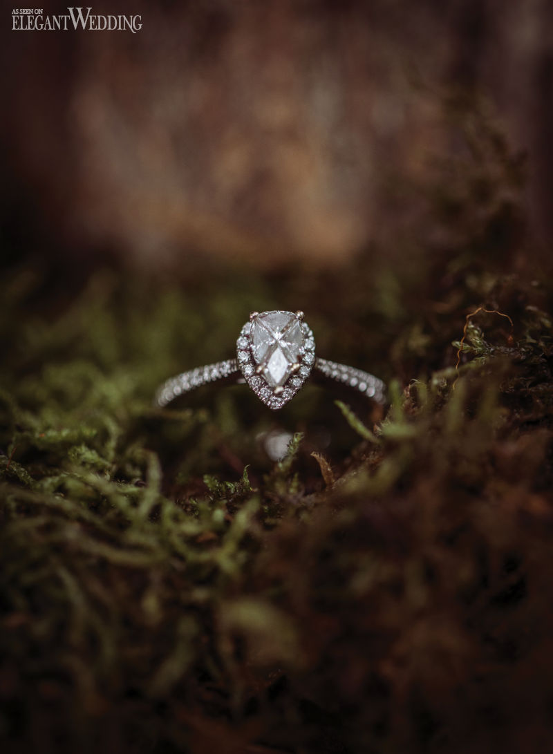 Moss Engagement Ring Photo Ideas