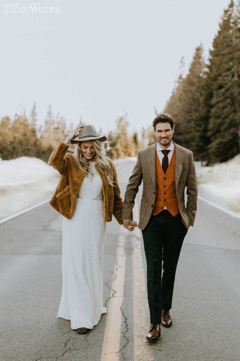 Boho Winter Wedding Inspiration