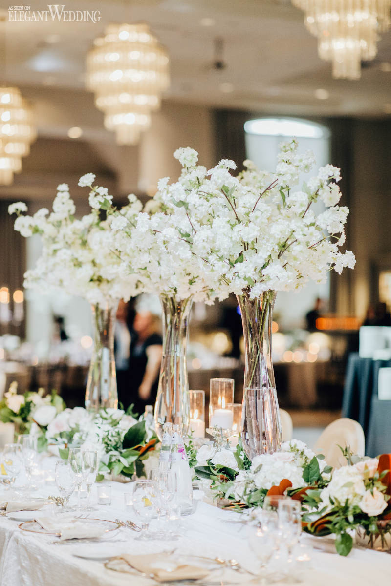 White Wedding Table Setting Ideas