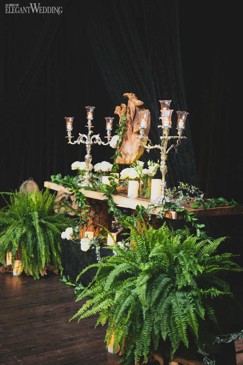 Rustic Greenery Wedding Decorations