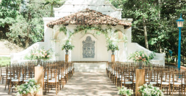 Natural California Wedding with Organic Florals