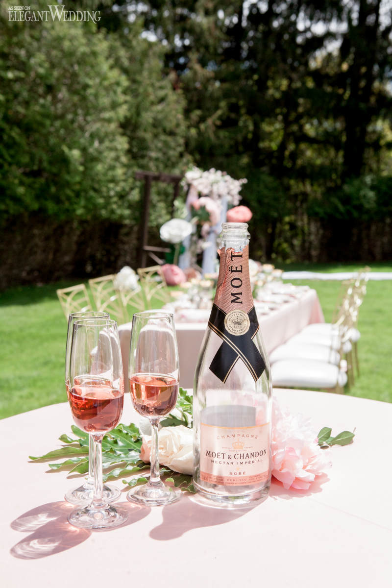 Pink Champagne Wedding Ideas