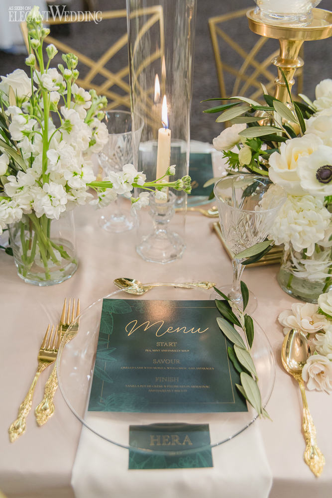 Magical Wedding Table Setting
