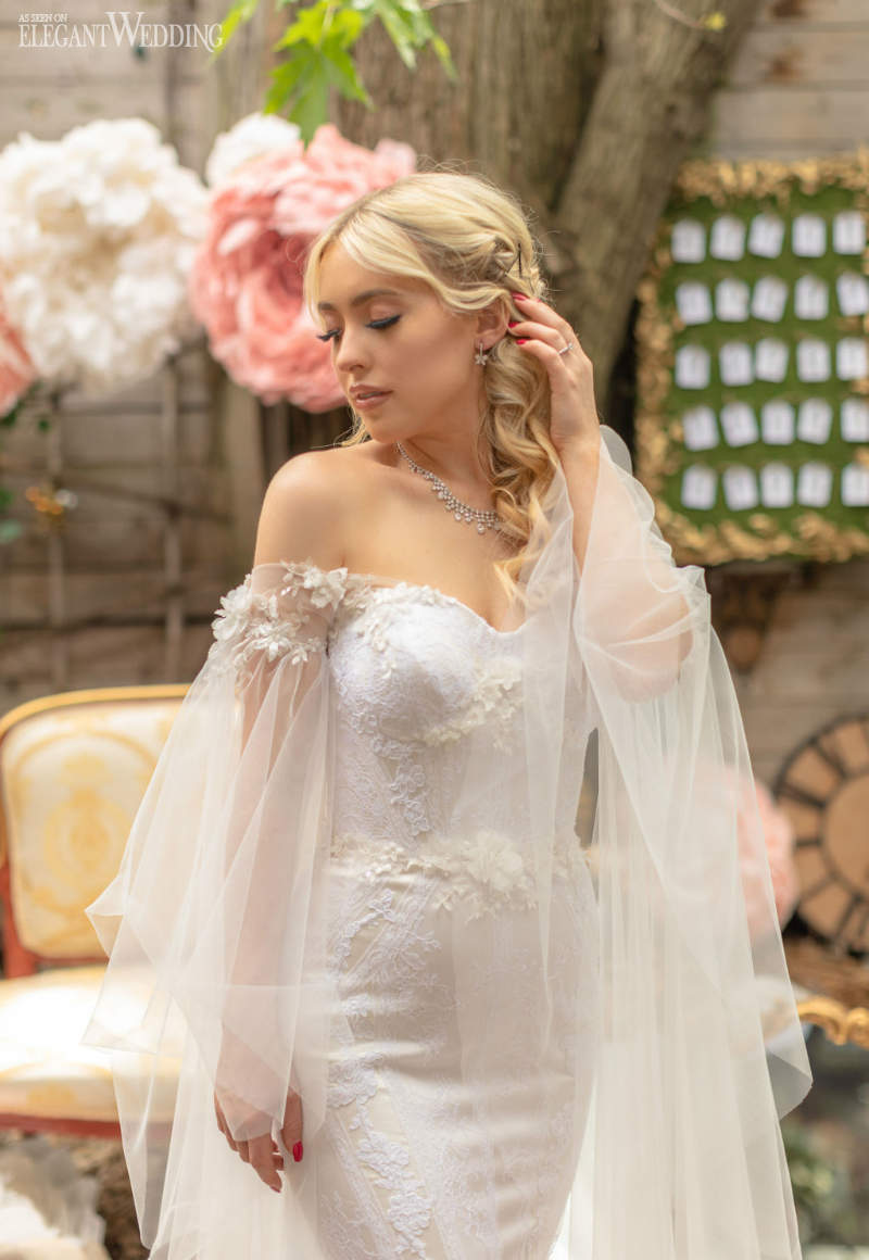 Caped Wedding Dresses