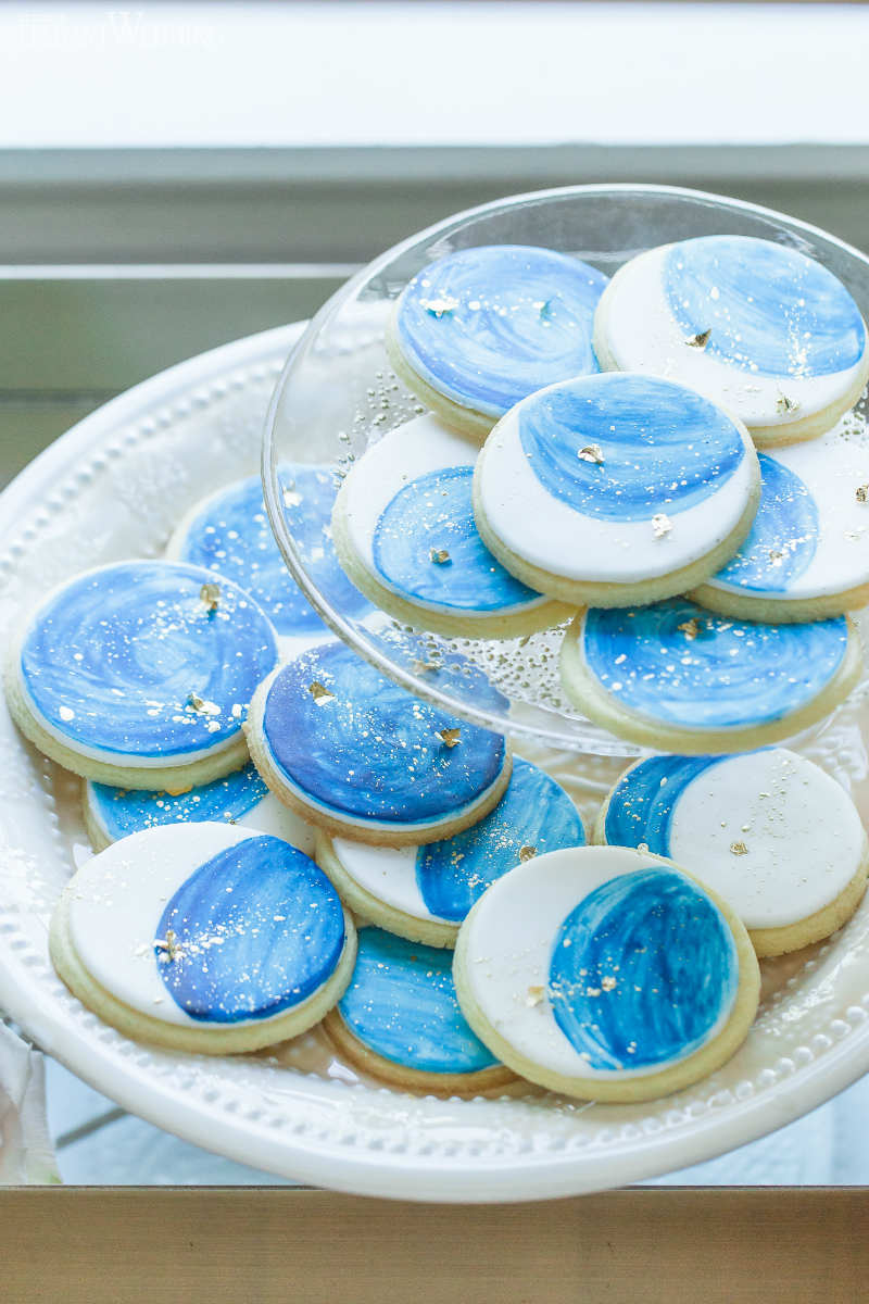 Celestial Wedding Cookies