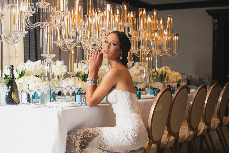 An Opulent Wedding with Tulips