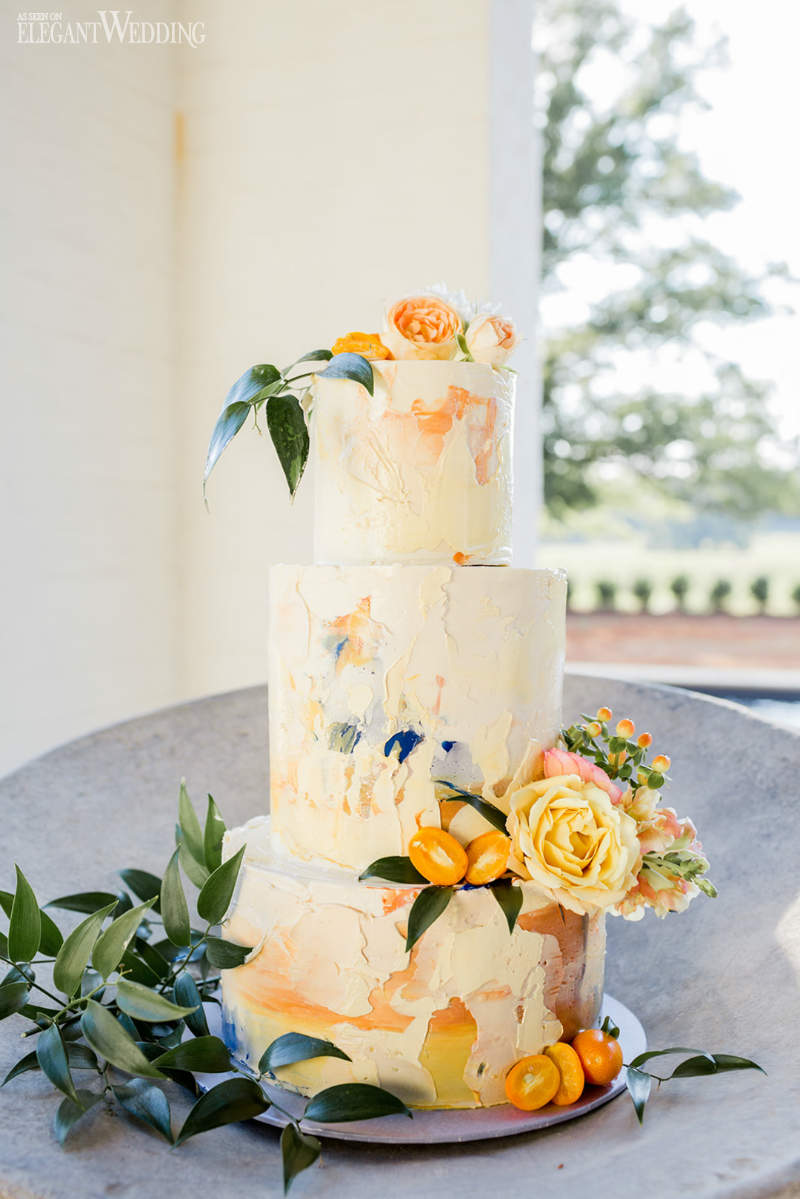 Mediterranean Wedding Cake