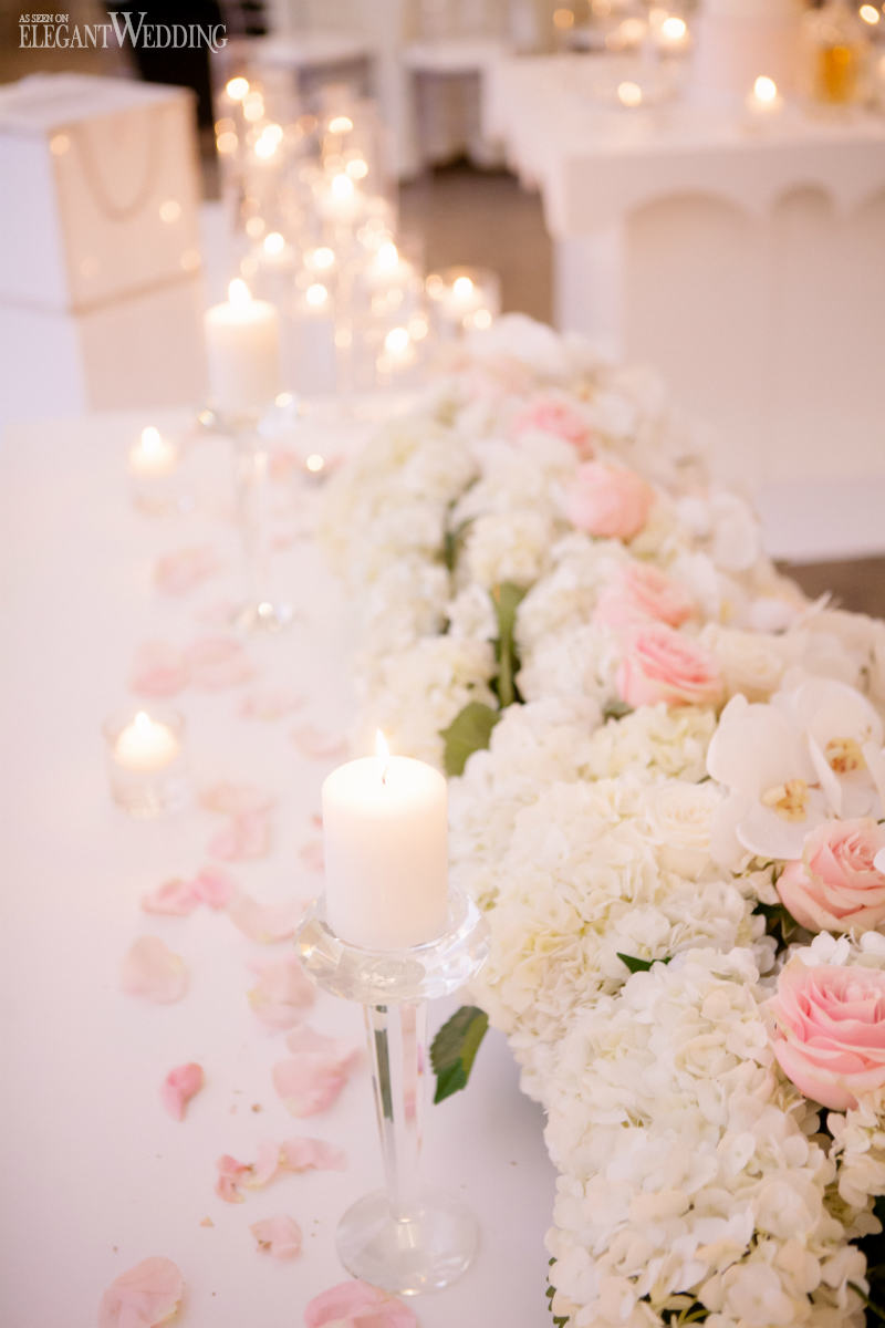 Blush and White Wedding Ideas