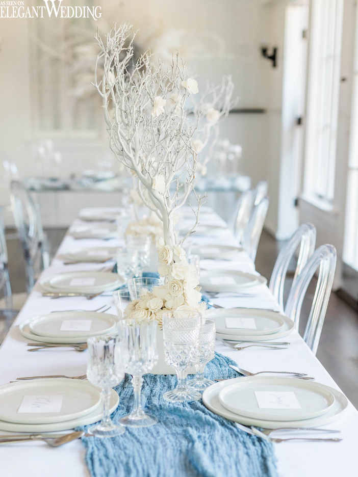 elegant wedding winter wedding theme