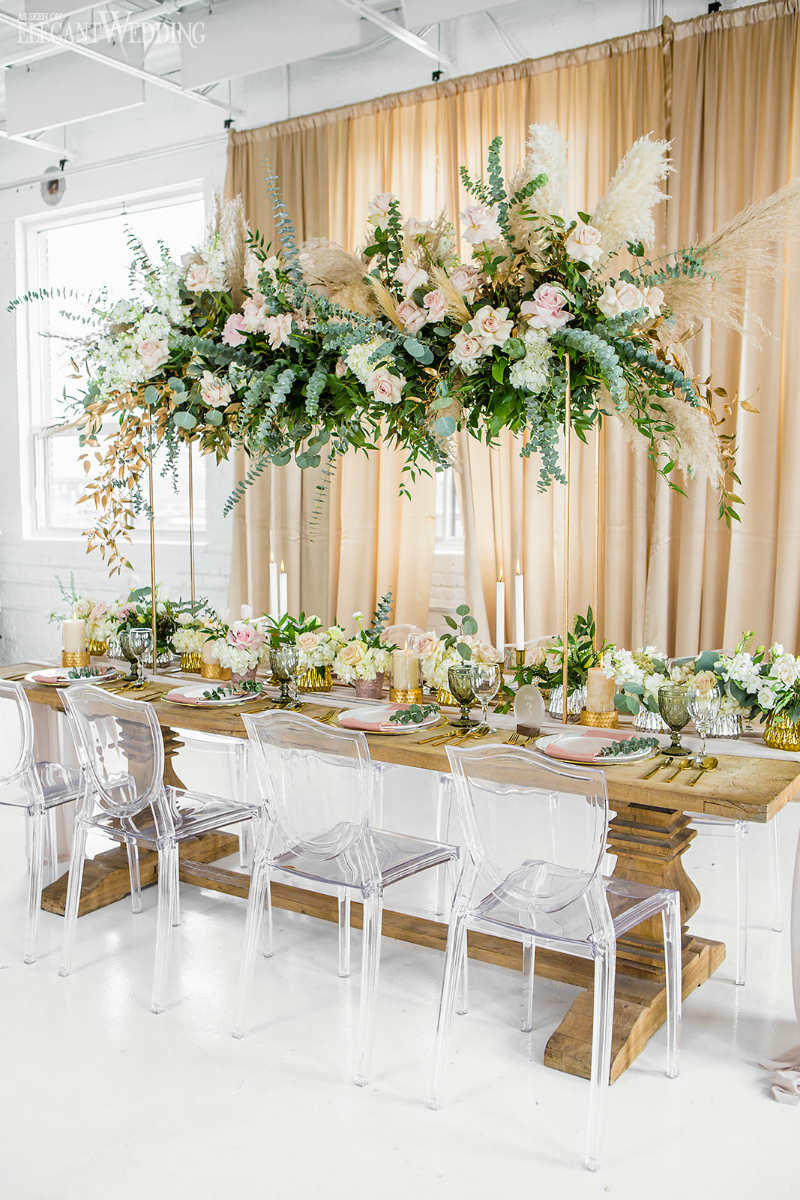 bohemian table decor