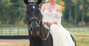 equestrian wedding theme
