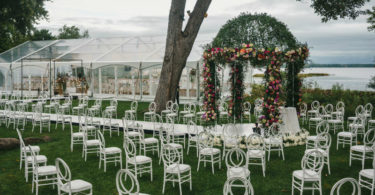 wedding ceremony outdoor montreal venue